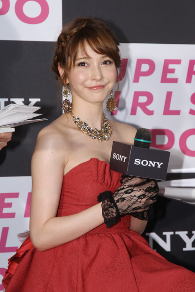 sonylena 11 日本名模藤井莉娜登台 分享Sony自拍玩美機魅力