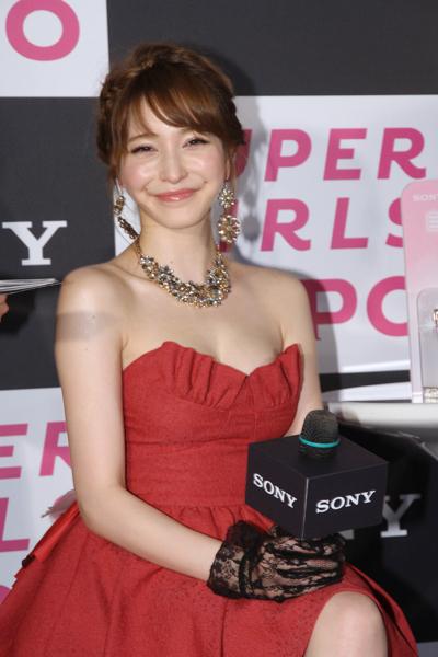 sonylena 20 日本名模藤井莉娜登台 分享Sony自拍玩美機魅力