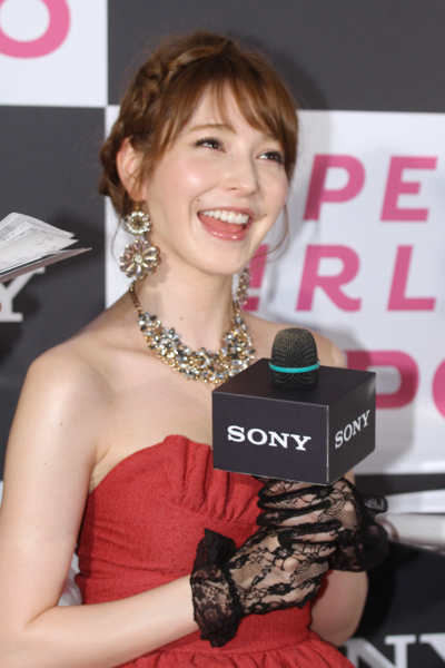 sonylena 23 日本名模藤井莉娜登台 分享Sony自拍玩美機魅力
