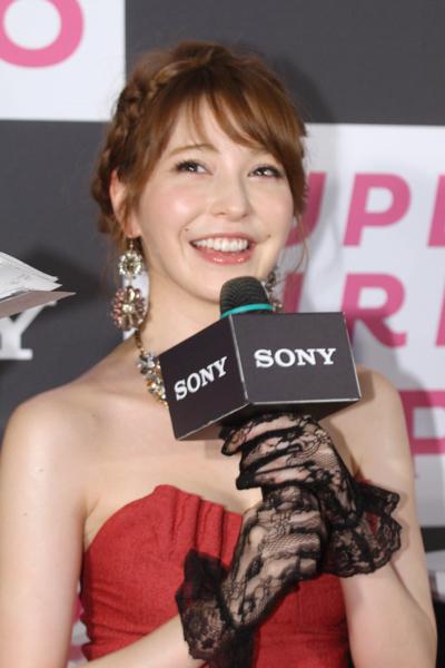 sonylena 24 日本名模藤井莉娜登台 分享Sony自拍玩美機魅力