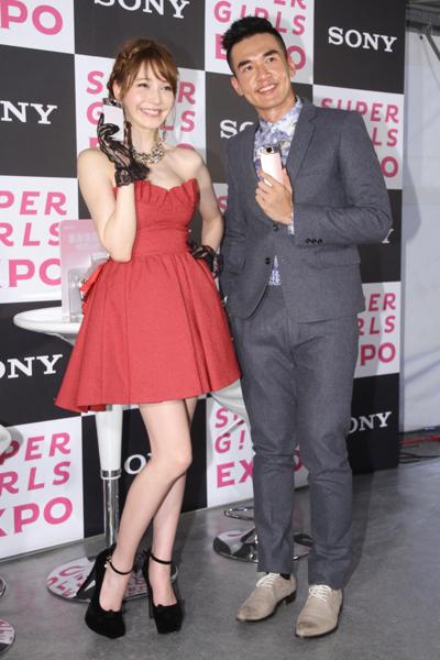sonylena 50 日本名模藤井莉娜登台 分享Sony自拍玩美機魅力