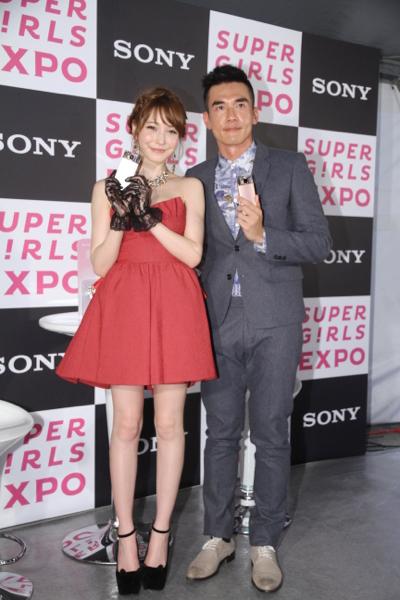 sonylena 52 日本名模藤井莉娜登台 分享Sony自拍玩美機魅力