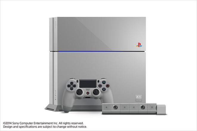 0001103000 Sony推PlayStation 20周年紀念PS4主機
