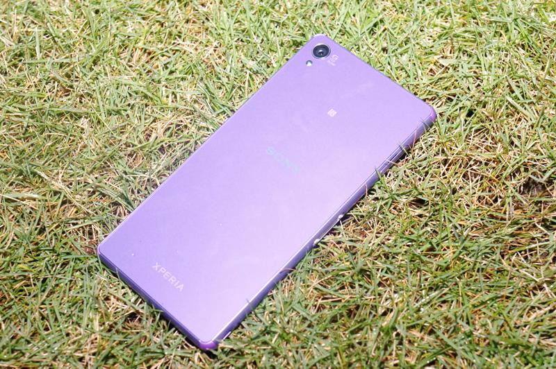 dsc06511 resize Xperia Z3淡紫款配色 「微薰紫」降價登台