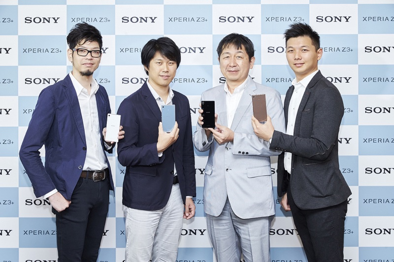 ?2.Sony Mobile旗??款Xperia Z3+新品技研?邀?四位日本??,??相?、?幕、音效、??等四大新?重?研??目?行解?。_resize