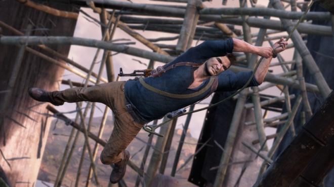 uncharted 4 drake scaffolding resize 《祕境探險4》 德瑞克系列故事最終結尾