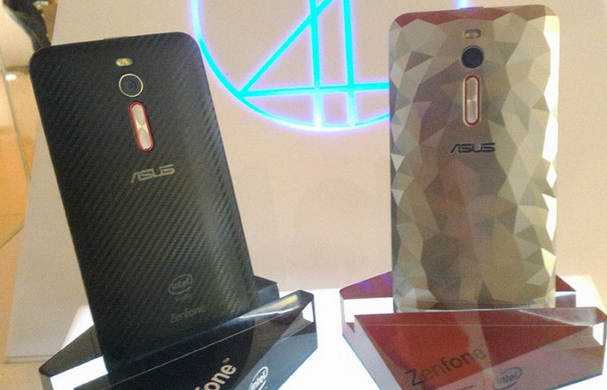 The-Asus-Zenfone-2-Deluxe-Special-Edition-in-Textured-Black-L-and-Illusion-White-R