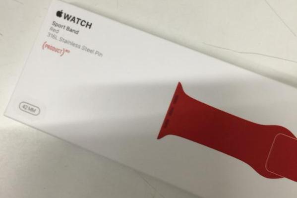 codffvhwuaeflzz (PRODUCT)RED款 蘋果將推紅色Apple Watch錶帶