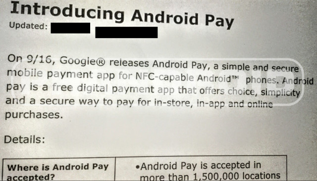 introducing android pay 640x366 Google新行動支付傳9/16推出 Android 4.4適用
