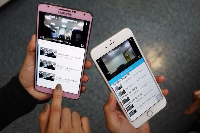 照片二:Orbweb.me監看家中,比傻瓜相機還簡單,還能手動錄影、拍照。_resize