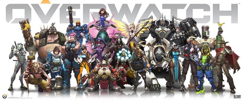 Blizzard Entertainment 全新科幻團戰射擊遊戲《鬥陣特攻》擁有豐富多彩世界觀、21位強大英雄_resize