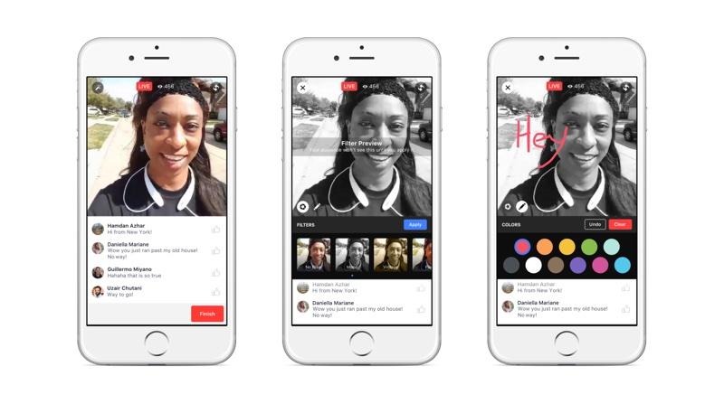 live creative tools ios resize Facebook直播再升級 小圈圈也能做實況