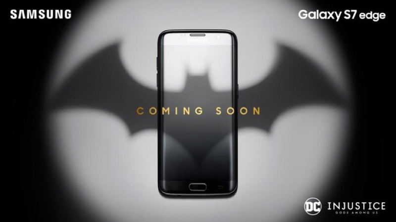 galaxy s7 edge limited edition resize 三星確定打造蝙蝠俠款Galaxy S7 Edge