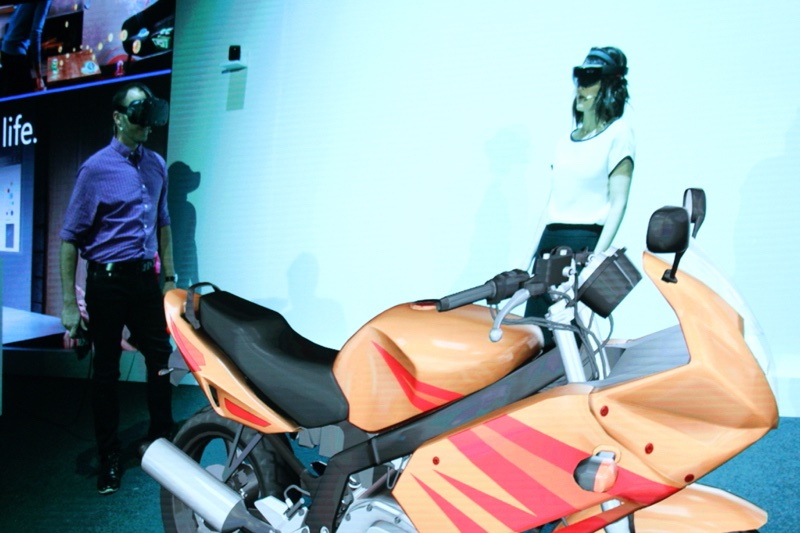 img 0197 resize HoloLens首度在台展示 擴大混合實境合作計畫