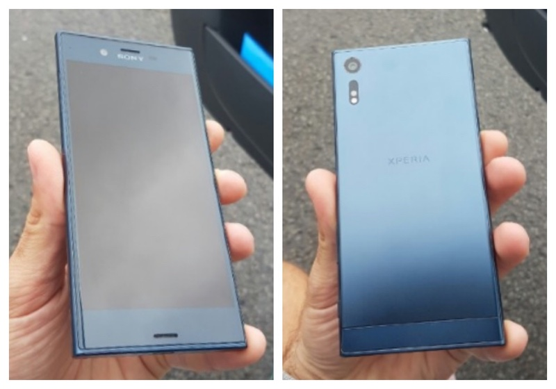 Sony高階新機外型曝光 前後相機可拍4K影像