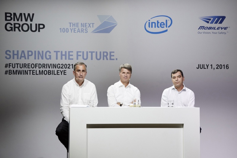 bmw group intel mobileye 2 resize BMW、Intel等廠攜手建造更安全自駕車