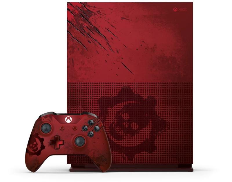 resize 61ryrecpyvl  sl1200  微軟推《戰爭機器4》、血紅款Xbox One S同捆