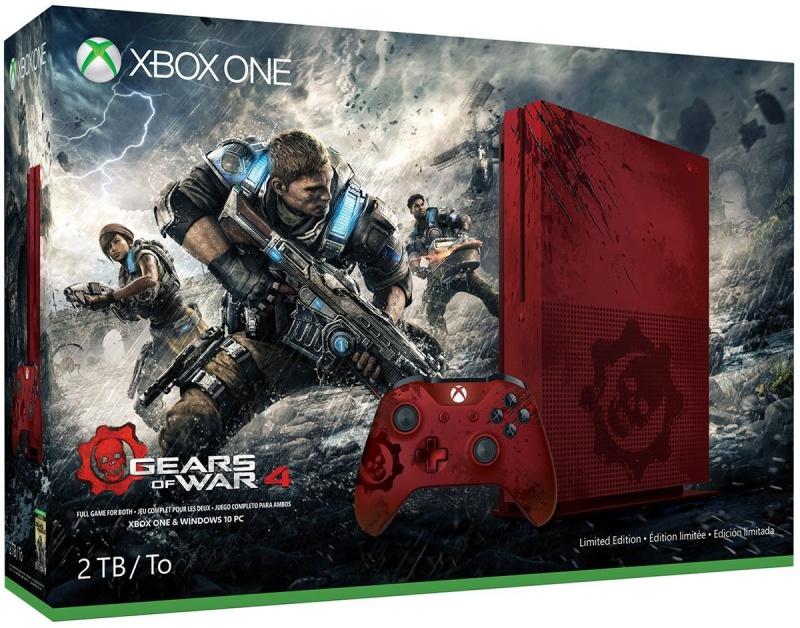 resize 81k9wtgra4l  sl1200  微軟推《戰爭機器4》、血紅款Xbox One S同捆