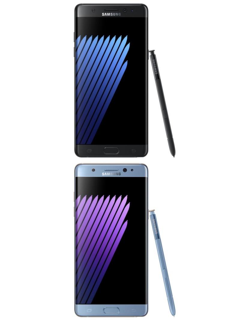 有「筆」較好 Galaxy Note 7加入虹膜解鎖、防水等設計