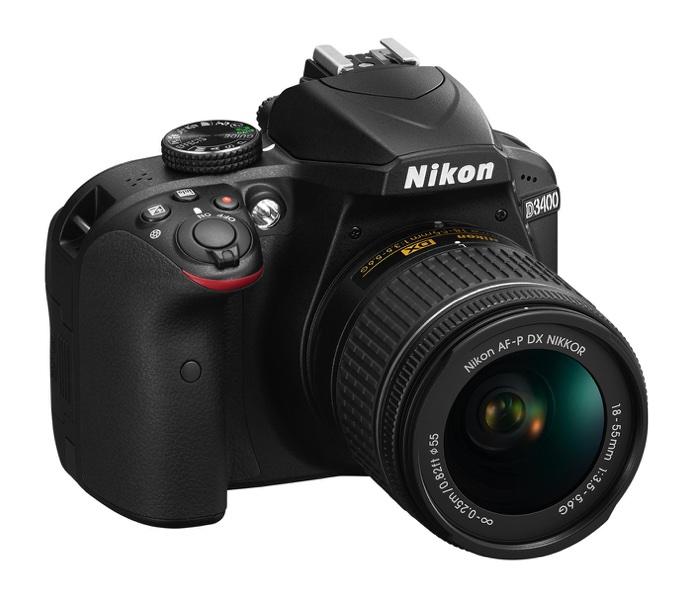 d3400 bk 18 55 frt34r 1 resize Nikon更新入門款數位單眼 D3400導入高階機種設計