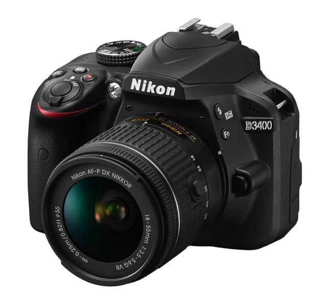 d3400 bk 18 55 vr frt34l 1 resize Nikon更新入門款數位單眼 D3400導入高階機種設計