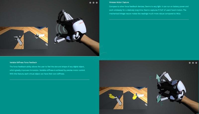 e89ea2e5b995e5bfabe785a7 2016 08 25 e4b88ae58d889 21 08 resize 外骨骼手套Dexmo 讓你能感受虛擬物件「觸感」