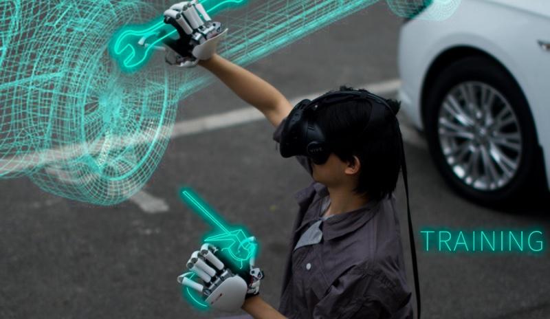 e89ea2e5b995e5bfabe785a7 2016 08 25 e4b88ae58d889 21 39 resize 外骨骼手套Dexmo 讓你能感受虛擬物件「觸感」