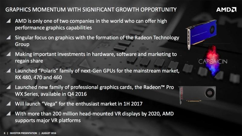 vega AMD「Zen」架構處理器明年Q1推出 Vega顯示架構產品跟進